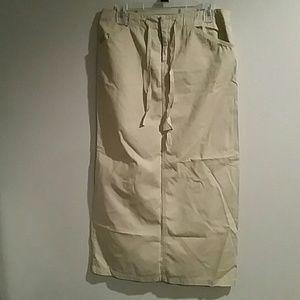 Women's Khaki Skirt